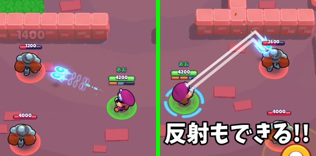 通常攻撃:ダブルバレルレーザー